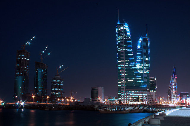The wealth and modernity of its CBD is one of the reasons to visit Bahrain
