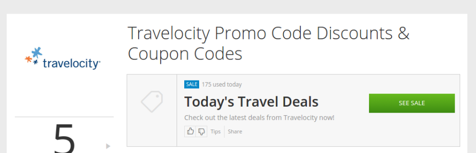 Groupon Travelocity