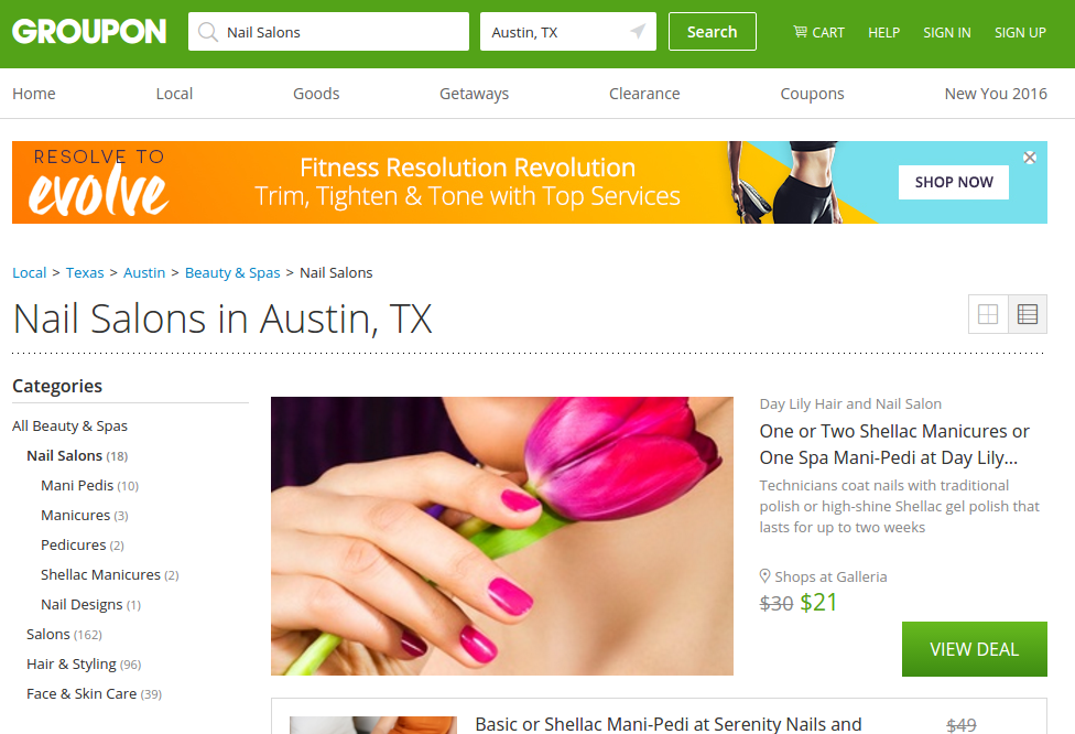 Groupon's offering some big deals on Wellness treatments